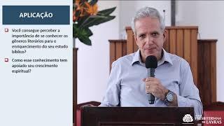 OS GÊNEROS LITERÁRIOS DO ANTIGO TESTAMENTO - I  | EBD