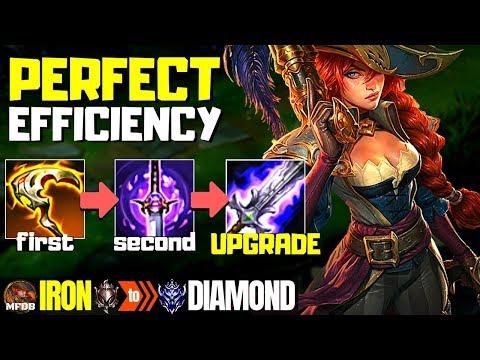 [9.10] BEST Miss Fortune Build - Iron to Diamond Episode #13 (Season 9)