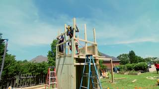 Creating a safe, imaginative and challenging playset for your family is absolutely doable, with this DIY construction plan.
