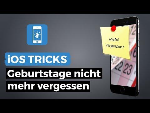 Geburtstage im Kalender einblenden und erinnern lassen   iPhone-Tricks.de