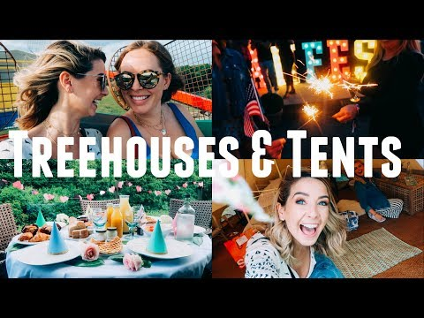 TREEHOUSES & TENTS