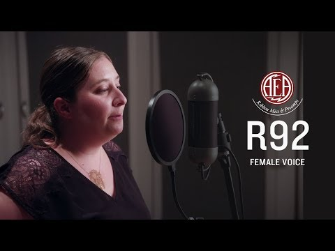 AEA R92 Front - Female Voice - Listening Library