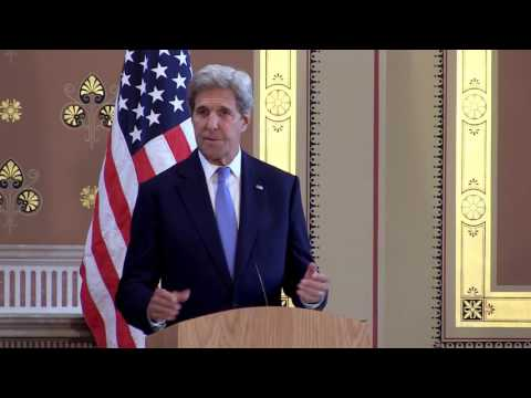 Press conference: Foreign Secretary Phillip Hammond and US Secretary of State John Kerry