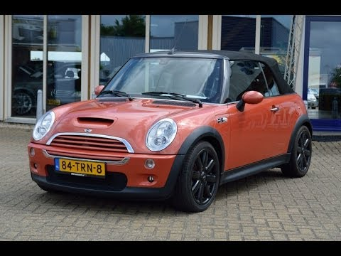 mini cooper s 175 pk cabrio youtube. Black Bedroom Furniture Sets. Home Design Ideas