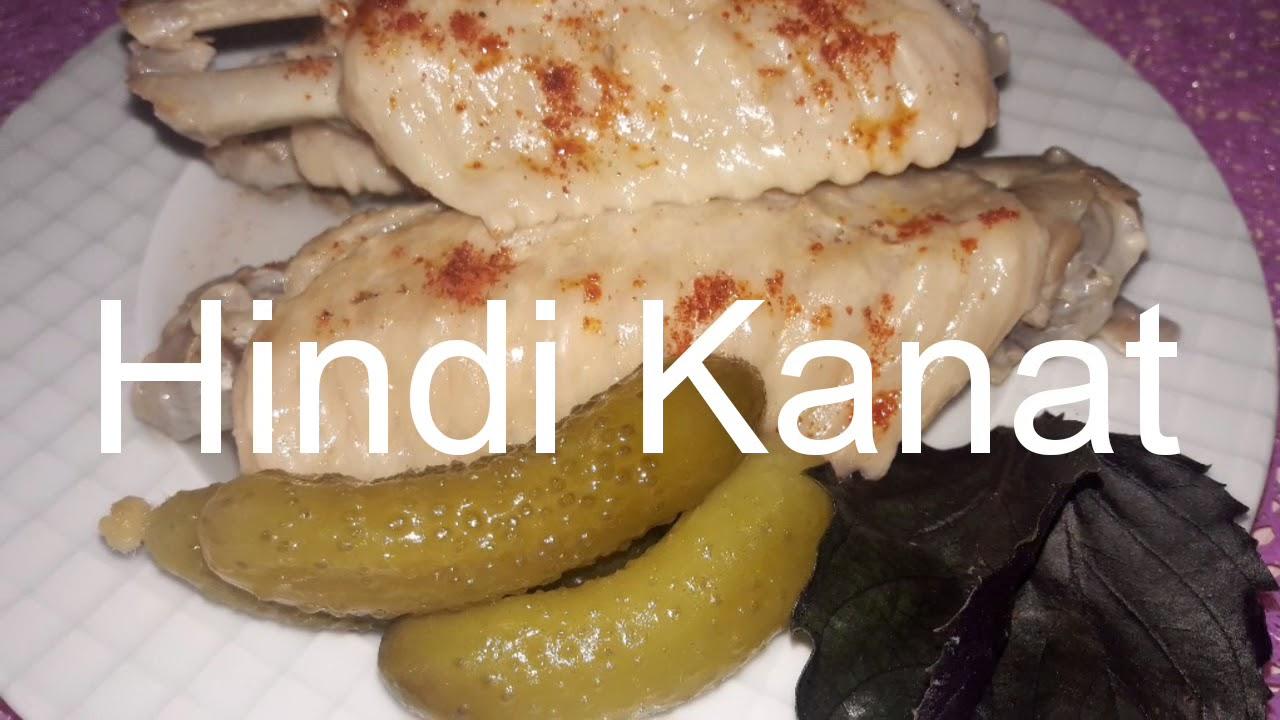 Hindi Kanat nasıl yapılır / proteinli diyet yemeği / çok kolay tarifler