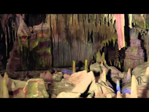 A Behind The Scenes Look At The Calico Mine Ride With Garner Holt Productions