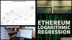 Ethereum price prediction based on logarithmic regression