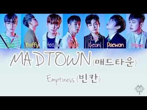 MADTOWN (매드타운) – Emptiness (빈칸) [ Lyric ]