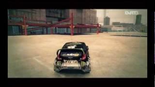 DiRT 3 - Parking Lot - Battersea Gameplay PC