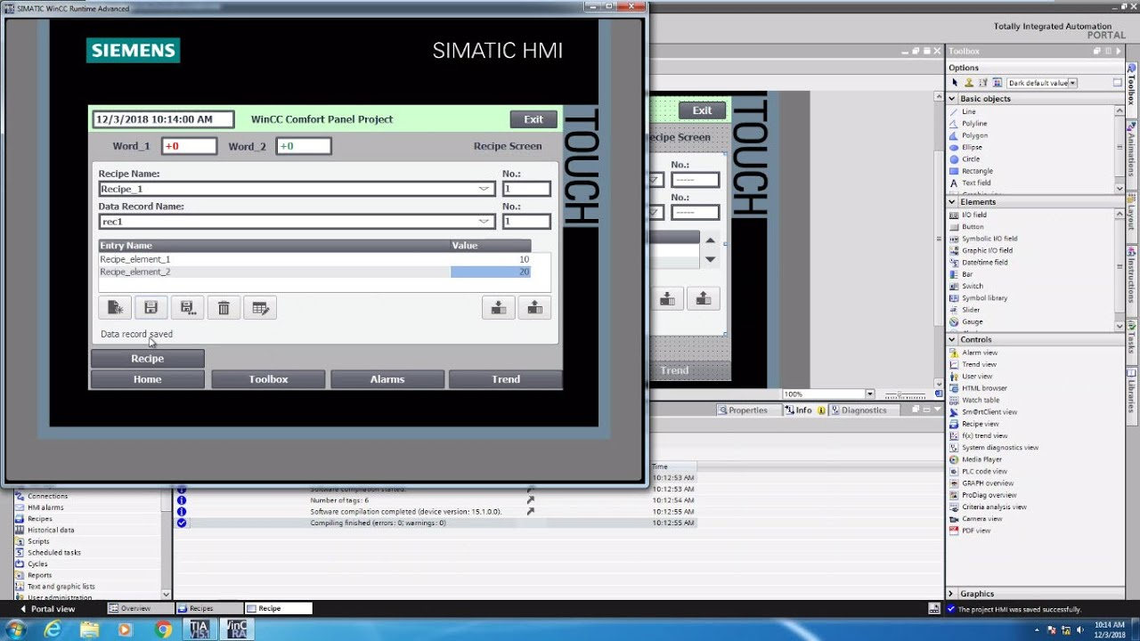 Siemens HMI Video Training Series - Professional Control Corporation - WI  Siemens Distributor