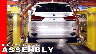New BMW X5 & X6 Assembly Factory