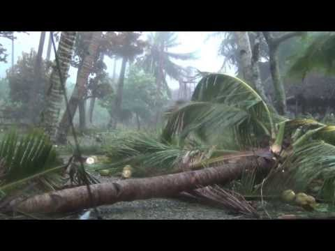Actual Footage of Super Typhoon Yolanda, Tagbubunga, November 8, 2013