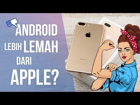 5 Kelemahan Android yang Membuat Apple Menjadi Lebih Unggul