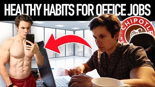 How To Stay In Shape Working A 9 TO 5 OFFICE JOB | Morning Routine + Healthy Meal Ideas