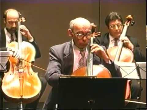 Starker Performs Frescobaldi Toccata With 8 Celli