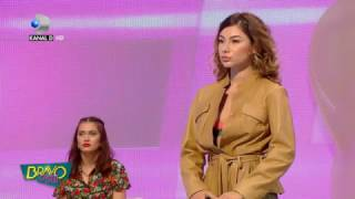 Bravo, ai stil! (12.04.2017) - Andreea i-a impresionat pe jurati cu tinuta asta! Ce au avut de spus