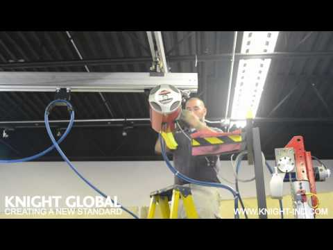 Knight Global Air Balancer to Rail Installation