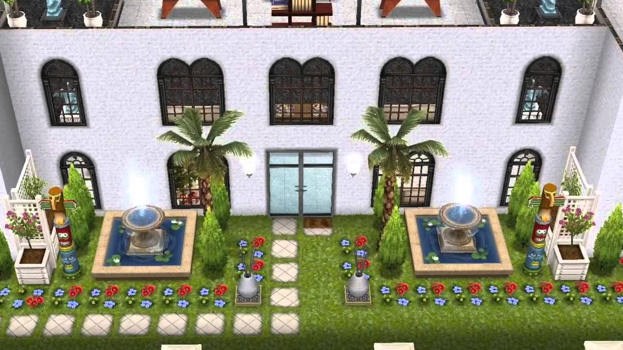 Sims gratuito pimp my house trailer proyecto youtube for Casa de diseno sims freeplay