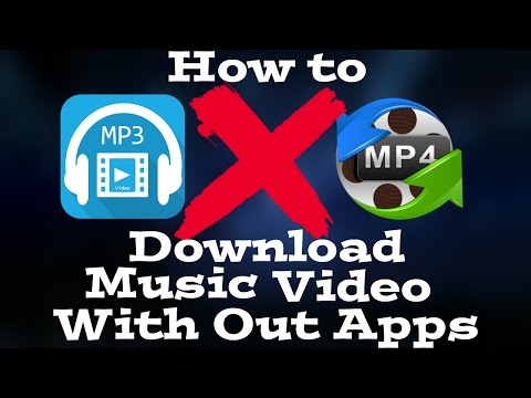 How to Download MP3,MP4 on IPHONE AND ANDROID No Apps Needed