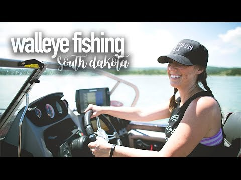 Walleye Fishing At Lake Francis Case In South Dakota