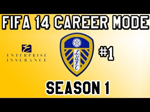 Fifa 14 Career Mode Leeds United S1 E1 - Let's Do this!! and First EVER 50 LIKES?!