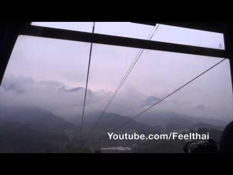 ขึ้นกระเช้า Tianmen mountain cable car