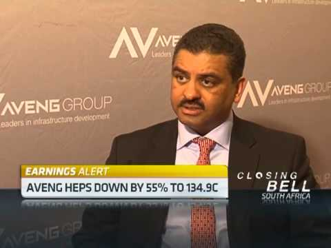 Aveng Full Year Results with Roger Jardine