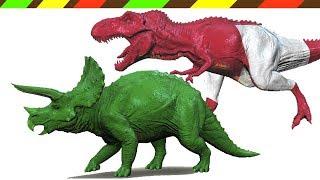 dinosaur 3d t rex triceratops   dino paint   dcte vn
