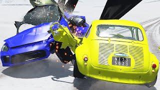 Cars Rally Racing ВЗОРВАЛОСЬ КОЛЕСО ПЕРЕД ФИНИШЕМ Мультики про машинки гонки Ford Focus RS RX dirt 3