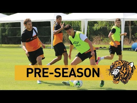 Pre-Season In Portugal | Passing & Running Drills