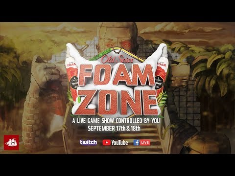 Get Ready For The Old Spice Foam Zone | Old Spice