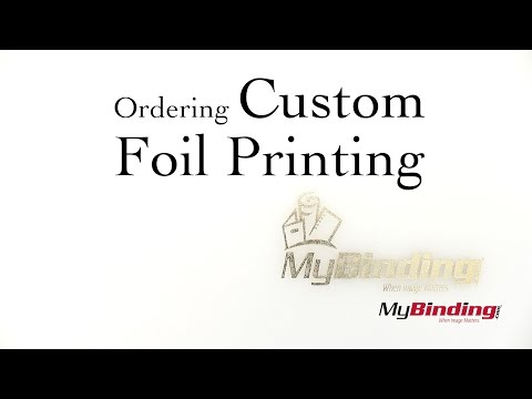 How to Order Custom Foil Printing