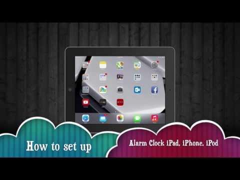 How To Set Alarm Clock On Iphone Ipad Ipod Iphone 5s 5c 4s 3gs