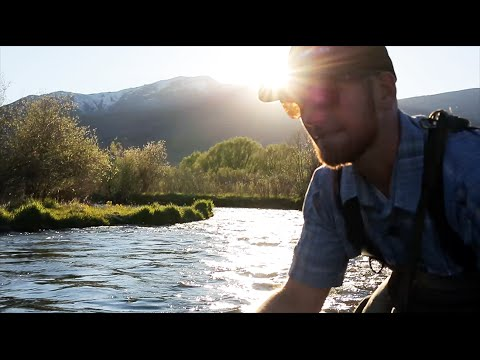 Fly Fishing: How to mend and mending your line