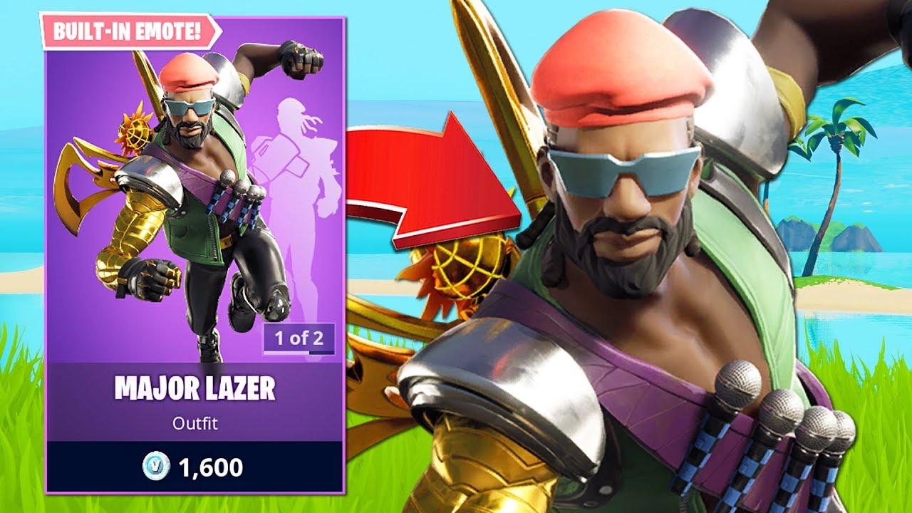New Major Lazer Skin & Solo Cash Cup Tournament! (Fortnite Battle Royale) thumbnail
