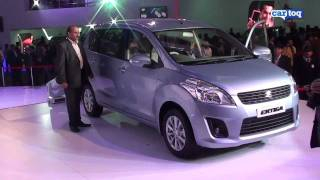Maruti Suzuki Ertiga Video Review by CarToq.com from the Auto Expo 2012