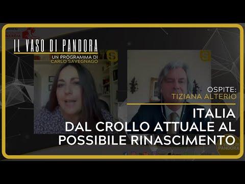 Italia, dal crollo attuale al possibile rinascimento - Tiziana Alterio