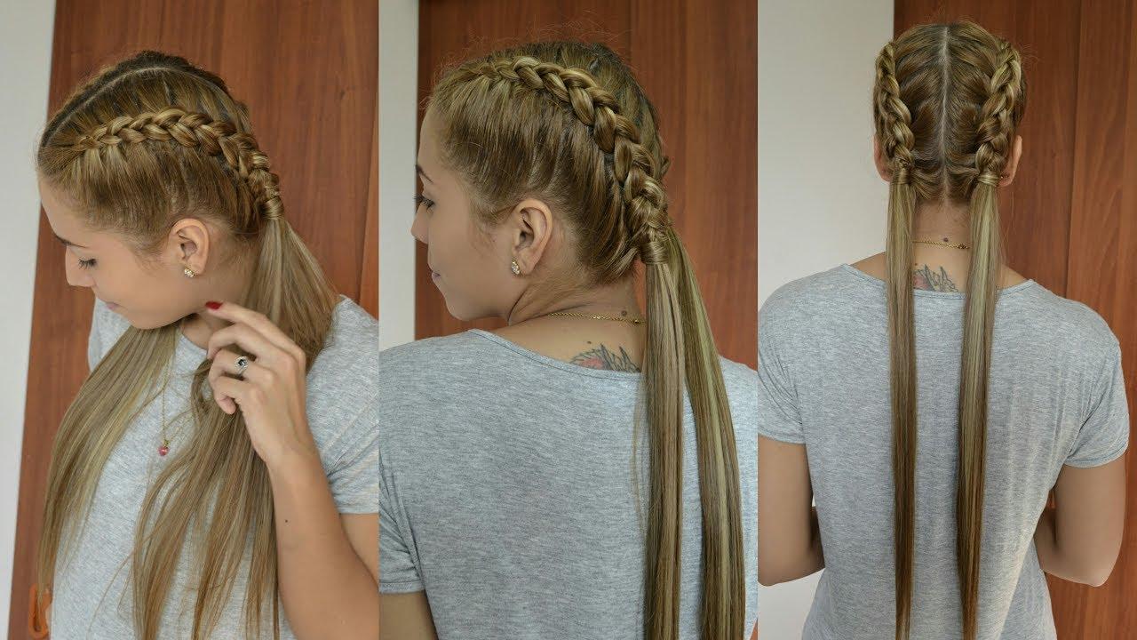 Boxer Braids Trenzas Holandesas Con Coletas Hairstyles Braid Belleza Sin Limites Youtube