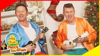 Jingle Bells Ukulele Lesson | Kids Music Lessons and Songs | The Mik Maks