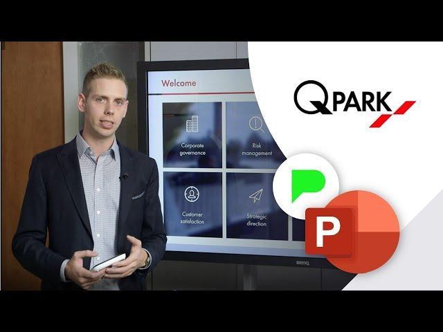 Corporate PowerPoint presentatie Q-Park | Portfolio | PPT Solutions