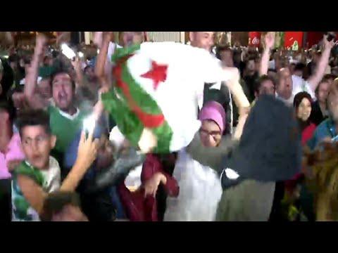 المغاربة يحتفلون بظفر المنتخب الجزائري بلقب كأس الأمم الأفريقية  - نشر قبل 3 ساعة