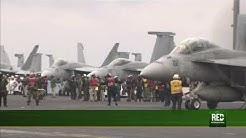 RED+ | EE.UU. despliega portaaviones nuclear frente a costas de florida