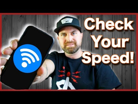 How To Check Your Wifi Speed On Your Phone