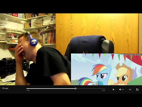 Ranger Reacts: YTP - My Magical Friendship: Ponies Are Little