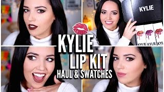 Kylie Jenner Lip Kit Swatches + GIVEAWAY!