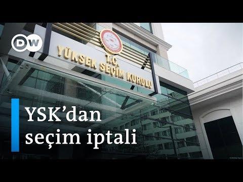 YSK'nın İstanbul seçimlerini iptal kararına ilişkin yapılan açıklamalar - DW Türkçe