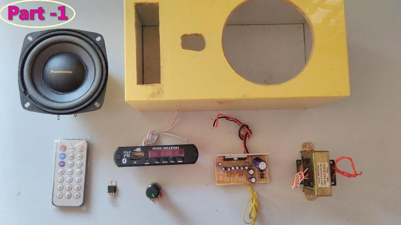 Bluetooth Sd Card Aux Fm Radio Mp3 Player Module With Amplifier Circuit Diagram Electronic Modules Part 1