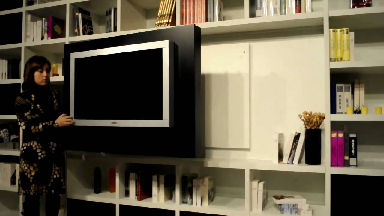 PANNELLO PORTA TV LCD ORIENTABILE GIREVOLE di ASTOR  YouTube
