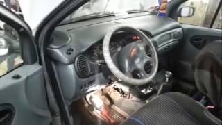 Замена радиатора печки Рено Сценик