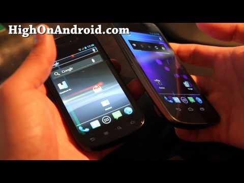 Galaxy Nexus vs. Nexus S!